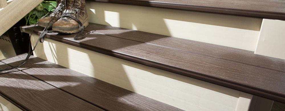PVC Decking Steps
