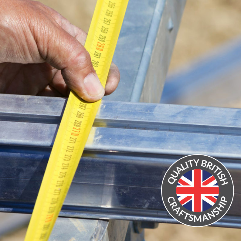 Aluminium subframe - Unlike other decking companies we offer you the option of an aluminium subframe so you don't need to worry about timber maintenance or rusting steel support under your deck. You'll have the peace of mind that the areas you can't see will remain as maintenance free as the areas you can see.