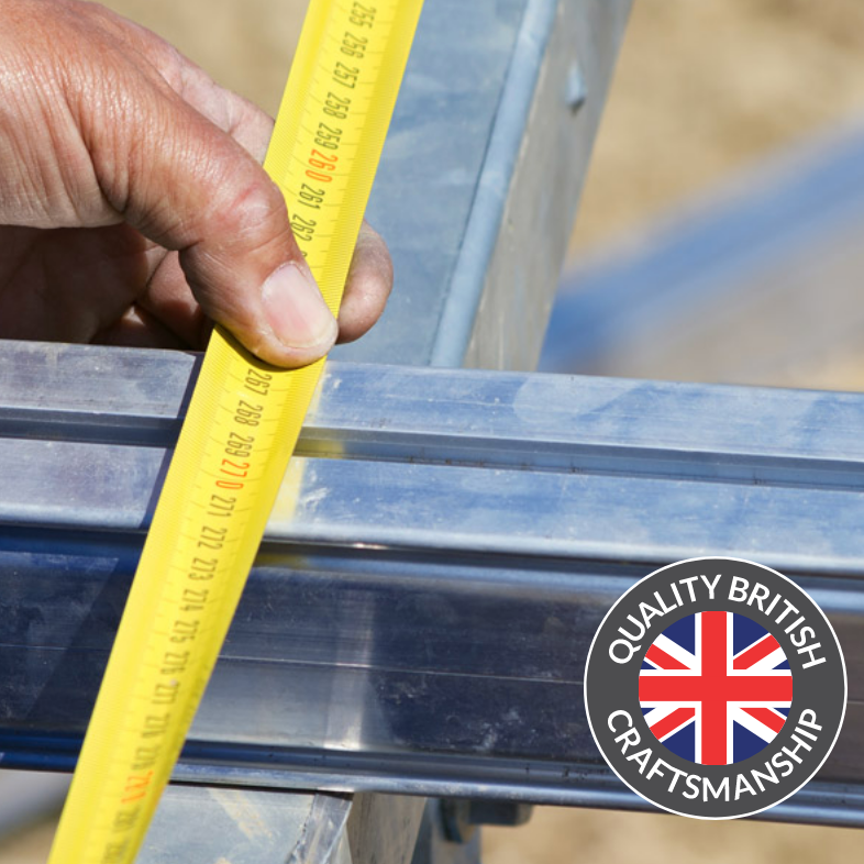 Unique aluminium subframe – there's nothing better  Unlike other decking companies, we offer you the option of an aluminium subframe so you don't need to worry about timber maintenance or rusting steel support under your deck. You'll have peace of mind that the areas you can't see will remain as maintenance free as the areas you can see