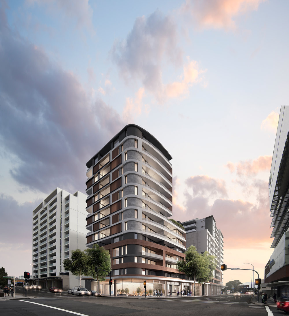 Adora - Comprising 51 residences, Adora harnesses north-facing views that impart a captivating city skyline. Presenting an enviable lifestyle in the heart of Hurstville, Adora integrates perfectly with modern architecture crafted for urban living.