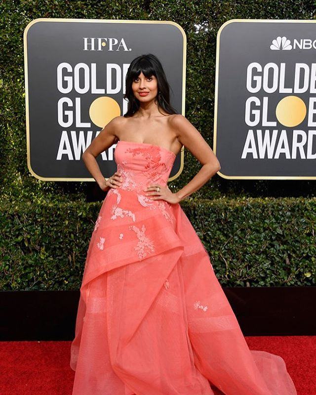 Congratulations to Jetpack client #jameelajamil at her first #goldenglobes last night. Jetpack runs social media for her international movement @i_weigh #socialmediamanagement