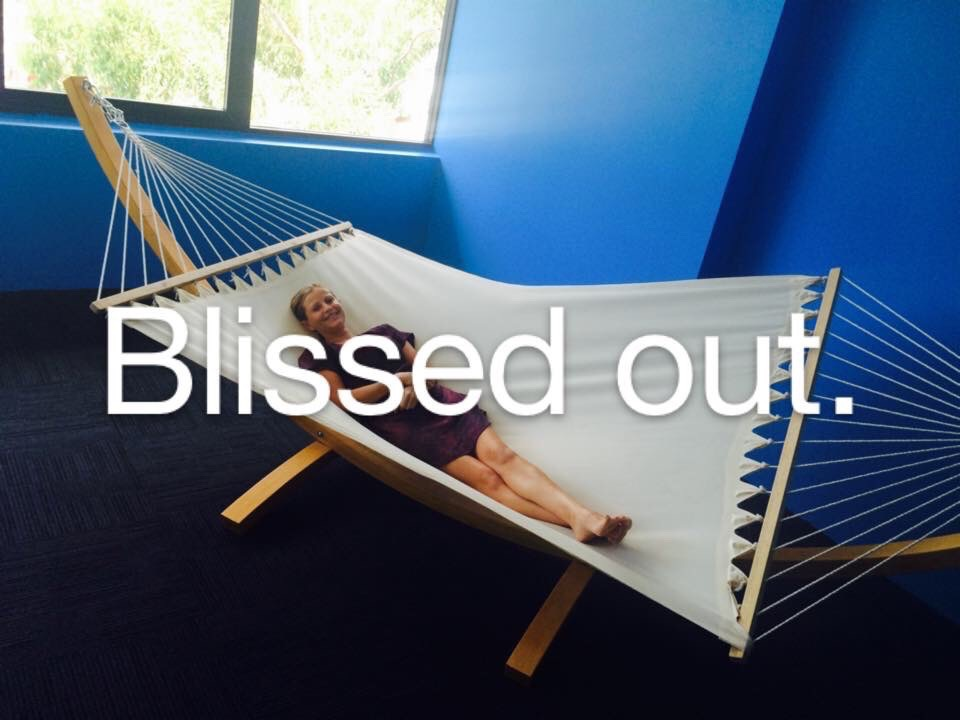 Blissed out