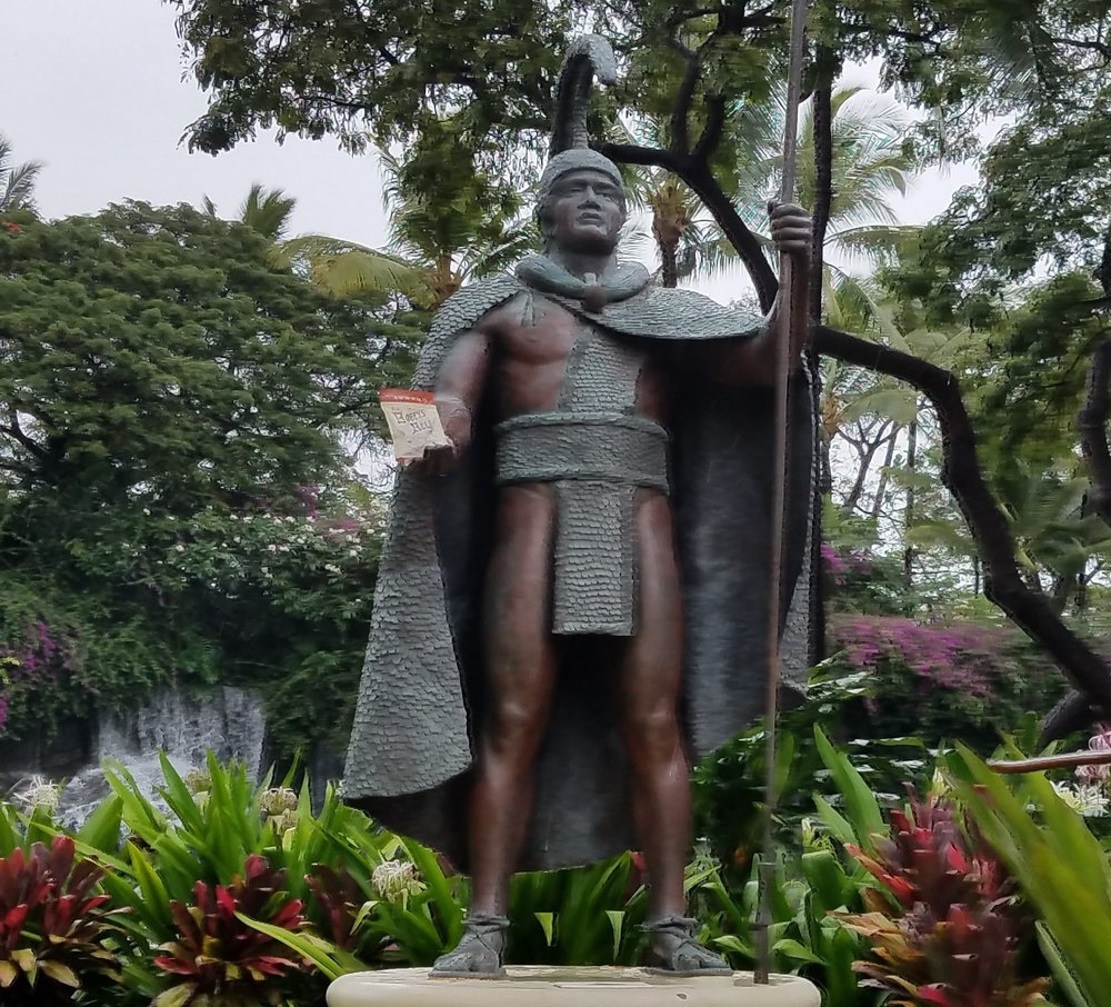 While in Maui, I learned that King Kamehameha loves Bogey's Beef Jerky!