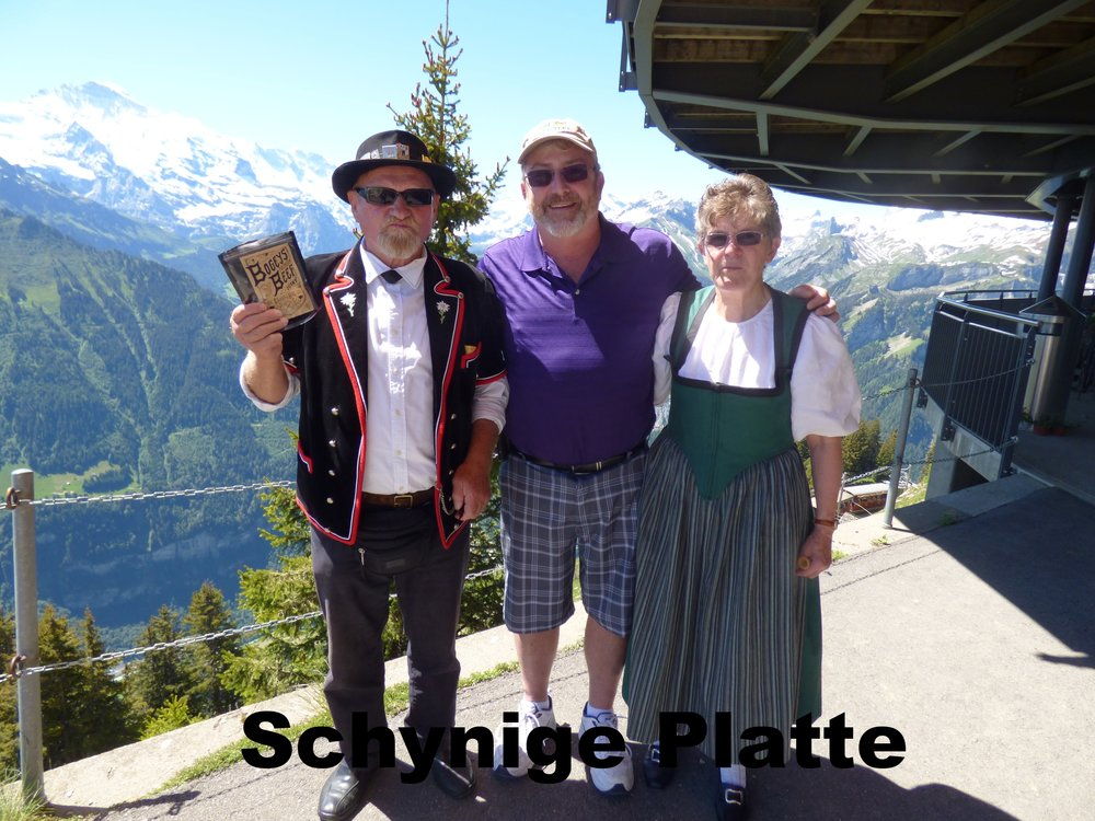 Doug and Friends!  The Swiss love their jerky!