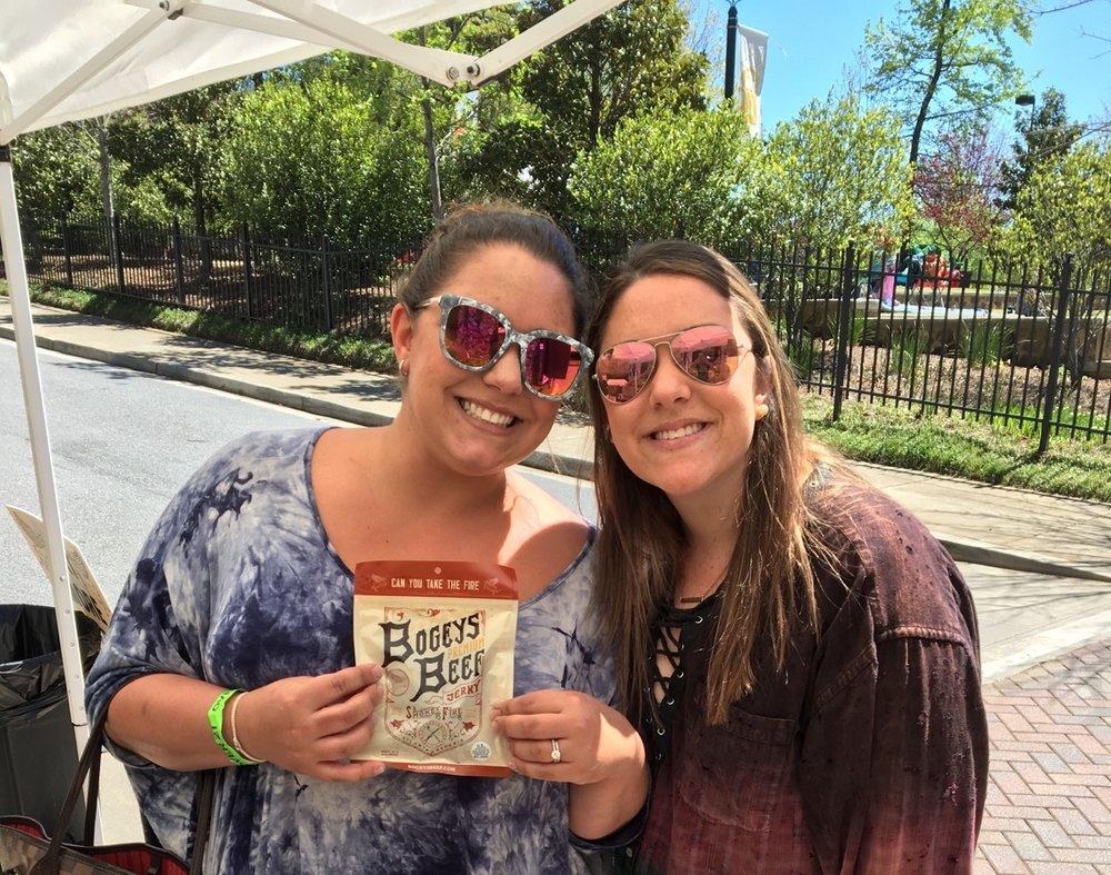Rhythm & Brews-Heritage Sandy Springs April 8th, 2017  New Bogeys fans.