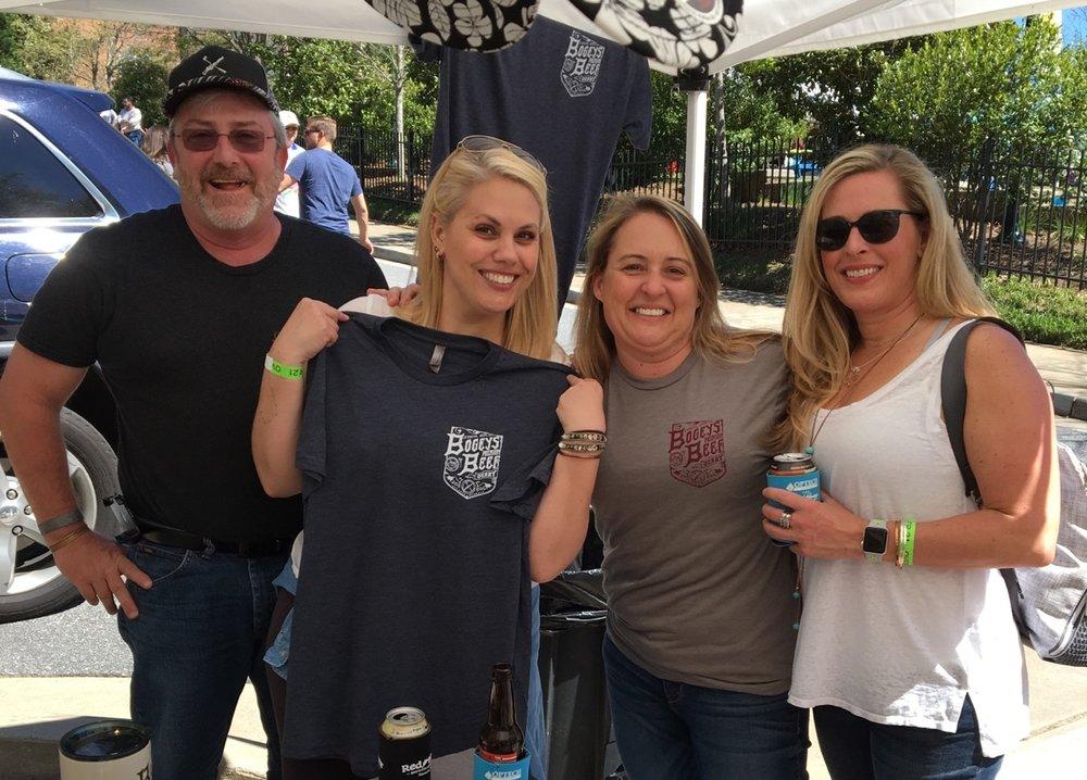 Rhythm & Brews-Heritage Sandy Springs April 8th, 2017  Done that, got the t-shirt!