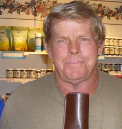 "Gary M  ""I had a stroke, and discovered that I had a 100% blocked carotid artery. I had severe numbness in my right leg, and my right eye was hemorrhaging from the stroke. My vision was blurry. Sometimes I would black out without warning. The doctors could offer no answers, and told me I was a  walking time bomb . I came to Nature's Finest Nutrition, and Jim recommended 20 capsules of Salmon Oil a day. In a week, the numbness in my leg disappeared, my eyesight cleared, and I had more energy. I'm still improving!"""