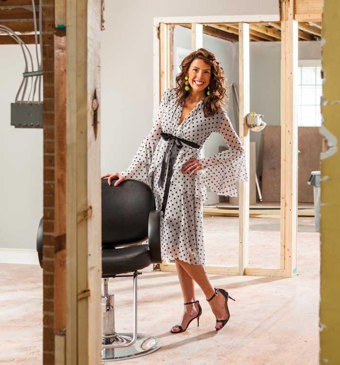 Sara Brown Cockrell invested in her business by transforming her 1920s vintage location.