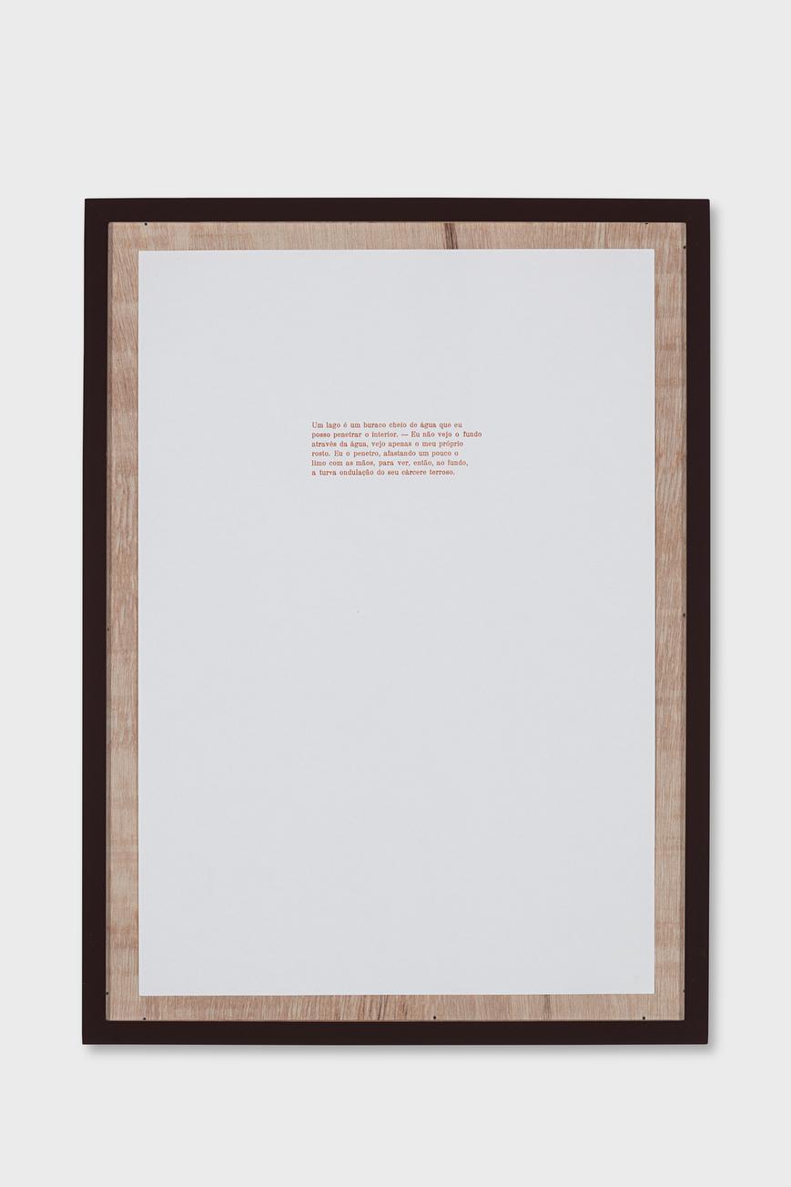 3.Detalhe da Instalação Primeiro Ato_Impressão tipografica 47x33cm_titulo Lago_Oficina Cultural Oswald de Andrade_2017.jpg