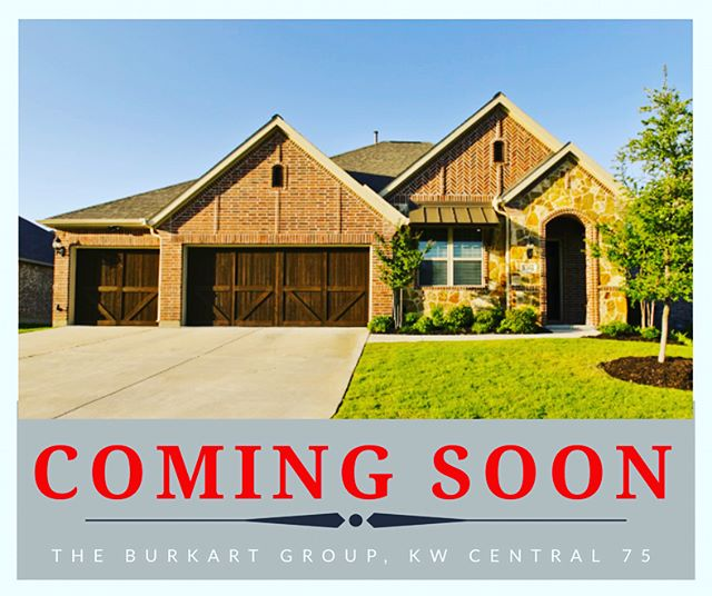 New listing COMING SOON in Wylie's Kreymer Estates!  Amazing floor plan with 4 bedrooms, 3.5 baths, office, gameroom and more!  Beautiful extra large lot on cul de sac opening to the greenbelt.