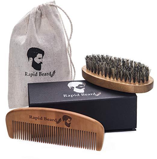 Beard Brush and Beard Comb kit for Men.jpg