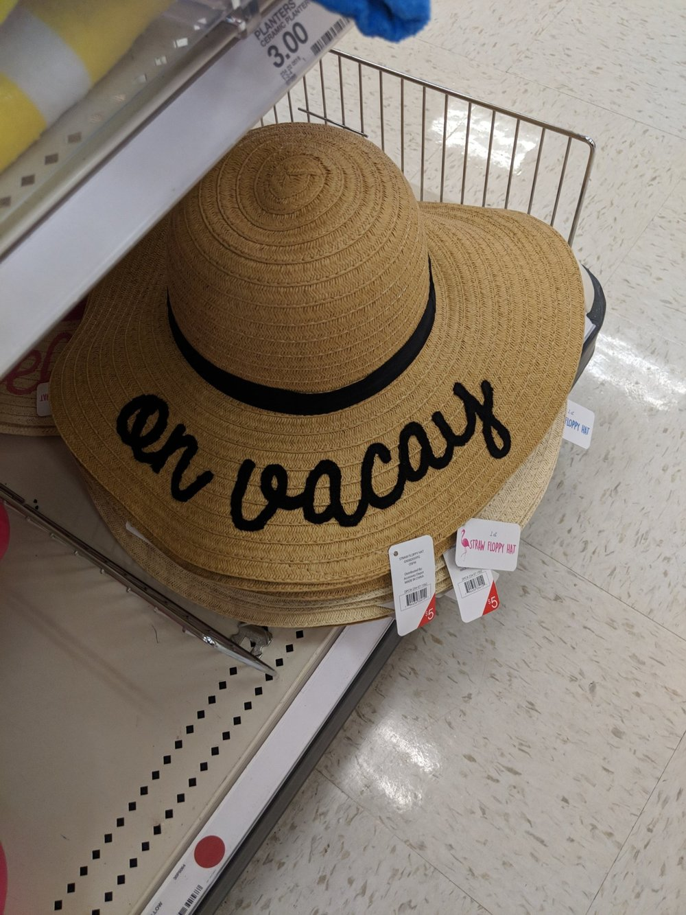 Bachelorette floppy hat