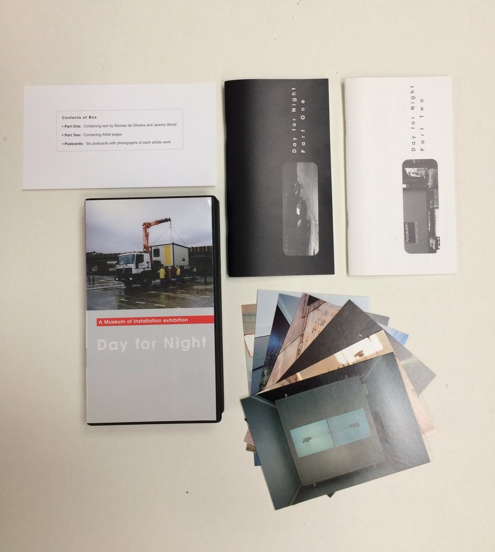 Publication.  Published and Distributed by Museum of Installation
