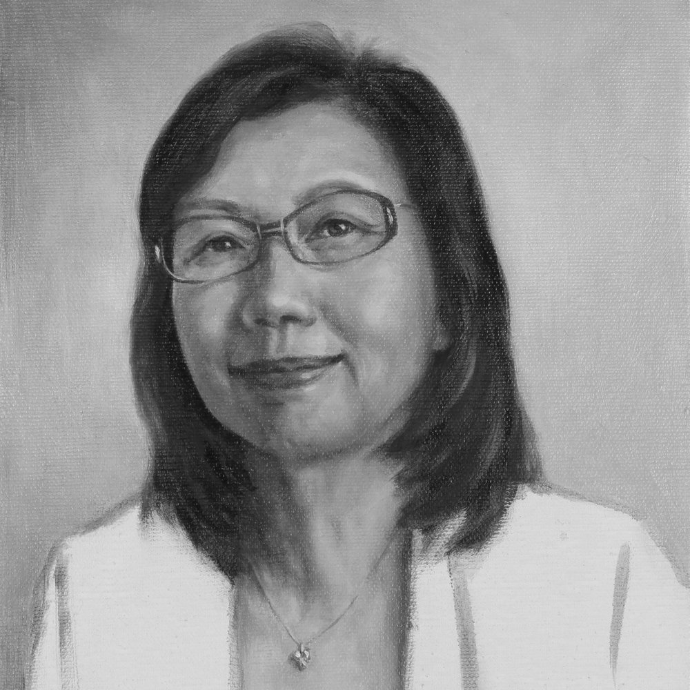 portrait by Diana Liu