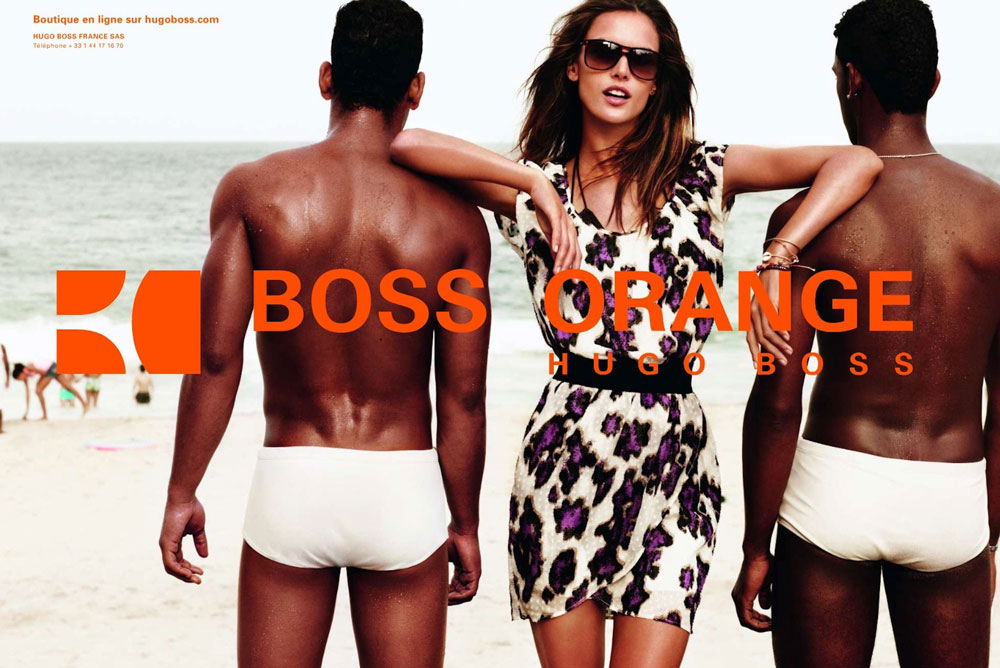Hugo Boss Orange Campaign