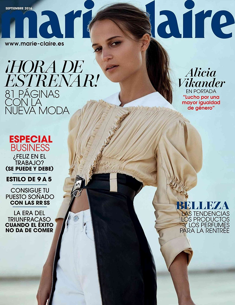 Marie Claire Spain September 2016 Cover.jpg
