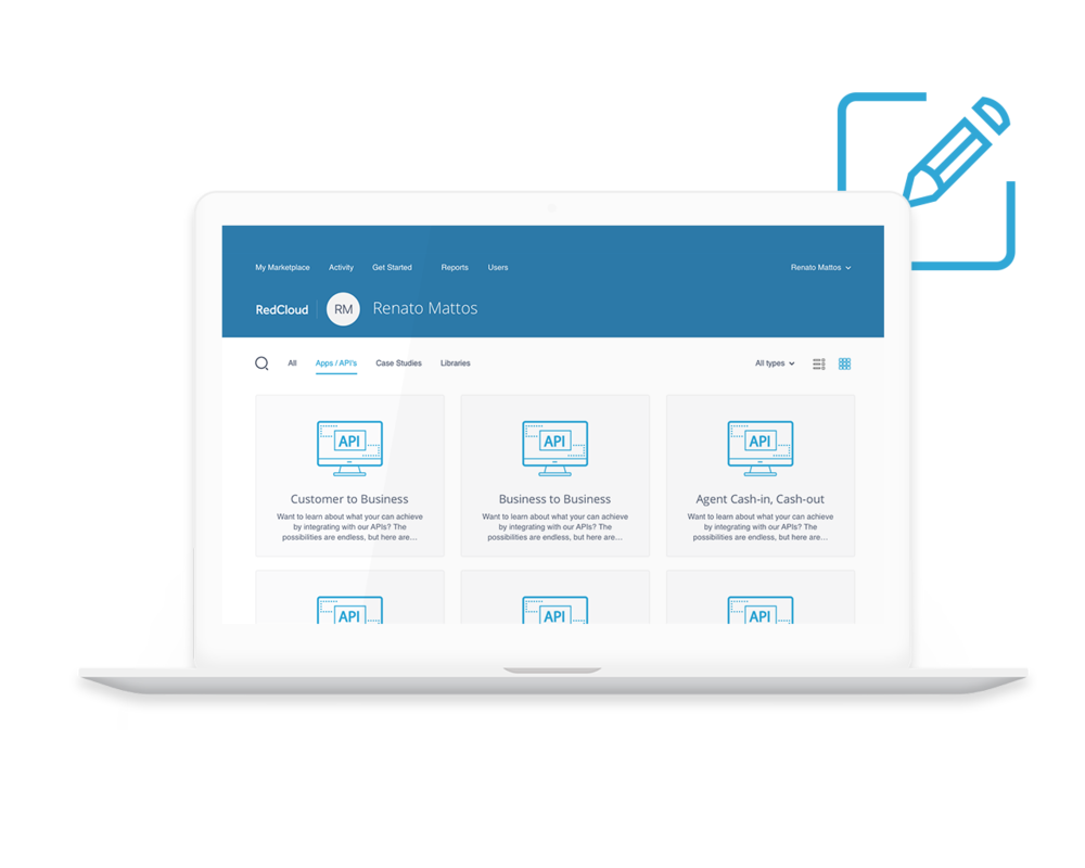 Smart Integration Module - Integrate with RedCloud's Smart Integration ModuleAccess Open APIs through RedCloud's developer portal