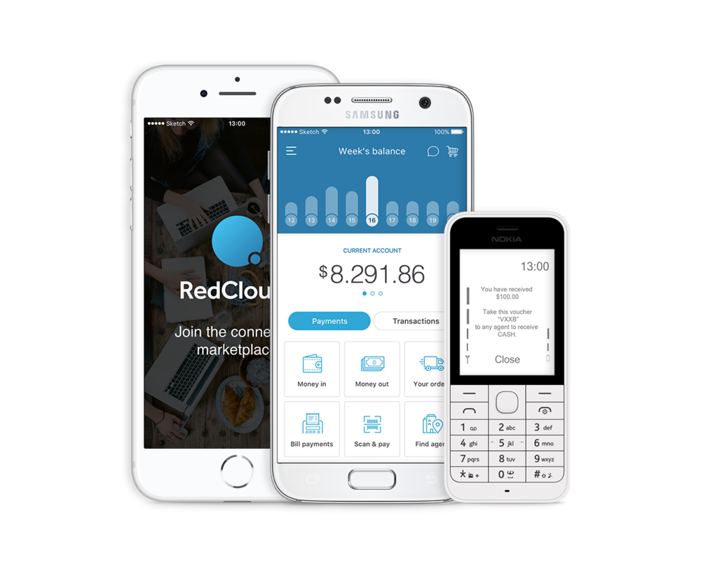Ubiquitous connectivity on any device - Apps with customisable branding and featuresCan be integrated to existing apps No investment in POS devices or cards
