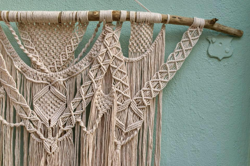 Summer Macrame Workshop   August 2nd, 2018 Details to come!  - SIGN UP AT MACRAMADEBYMARIE.COM