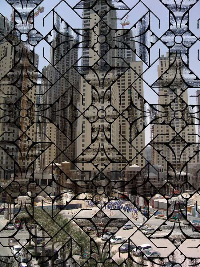 Dubai Jungle , 2016  Fotografía digital intervenida  45 x 33 cm