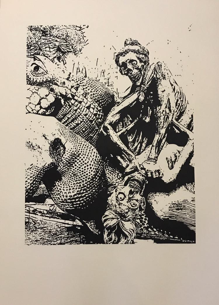 La Comedia Humana  Serie de 10  Huecograbado  69 x 52 cm