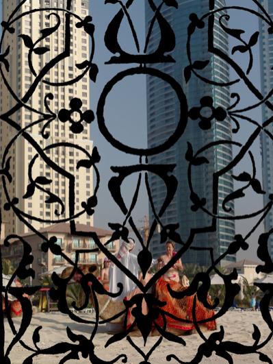 Cultural Blend , 2016  Fotografía Digital Intervenida  Impresa en Acrílico Por Emulsión  98 x 74 cm