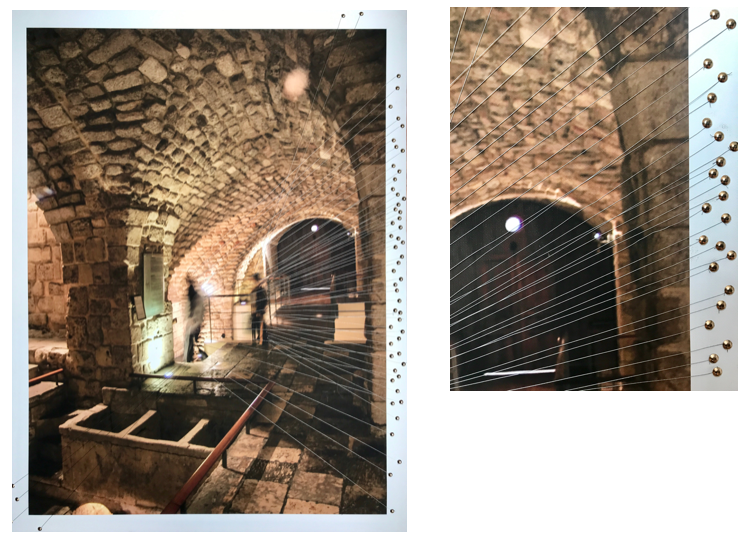 Soap Factory, 2017  Intervened giclée digital image on canvas  98 x 74.8 cm