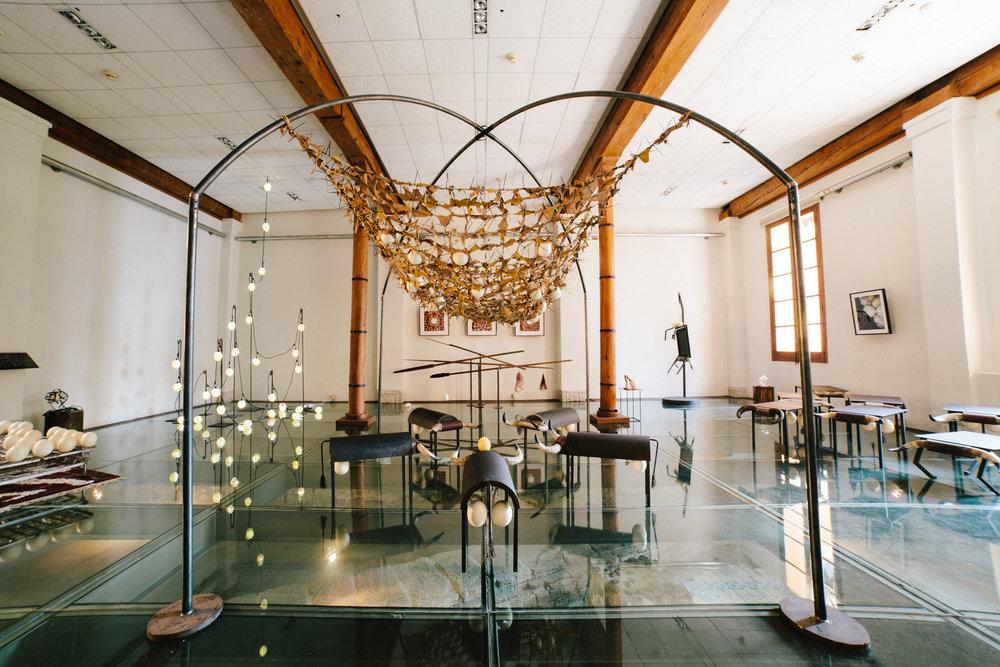 """Colección """"El Origen""""  Museo Palacio de la Autonomía, Ciudad de México."""
