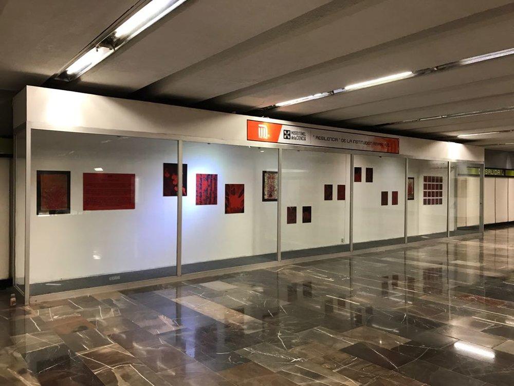 """Colección """"ROT""""  STC Metro La Raza, Ciudad de México."""
