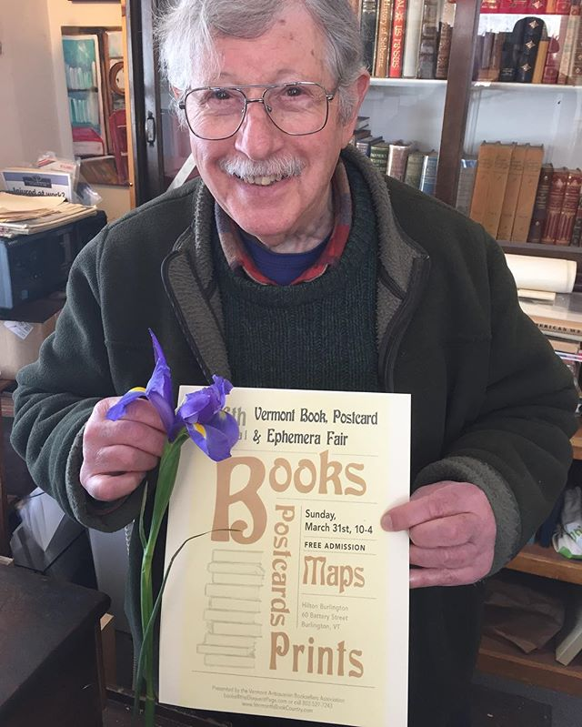 WHAT: 26th annual Vermont Book, Postcard, Ephemera Fair WHEN: Sunday, March 31st WHERE: Burlington Hilton, 60 Battery St. TIME: 10am - 4pm COST: FREE! 🌺