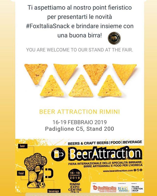 Vi aspettiamo a @beerattraction, ospiti degli amici @foxitalia_snack allo stand 200 pad C5! 🍻 • •  #birroir #birrificiobirroir #beerporn #instabeer #beeroftheday #instagood #photooftheday #tbt #followme #follow  #picoftheday #like4like #tagsforlikes #instadaily #igers #instalike #likeforlike #food #instamood #follow4follow #foxitaliasnack #beerattraction