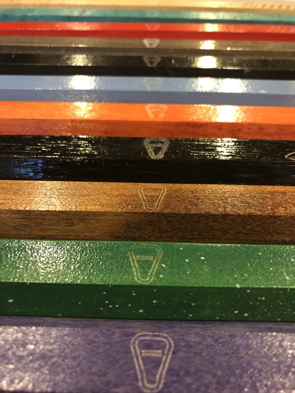 Equality in Lacrosse LOGO engraved on every stick -