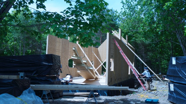 Near Net Zero House Going Up