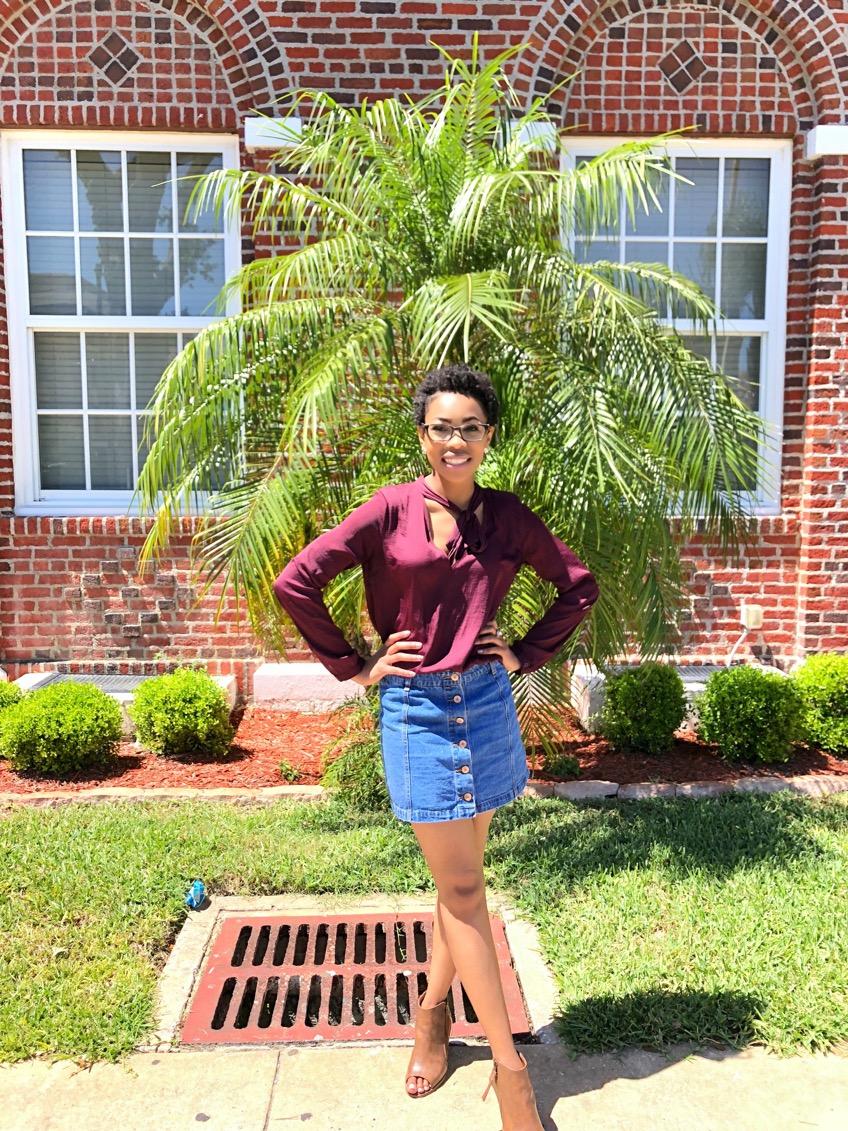 Model: Aijalon Austin, Sophomore Student