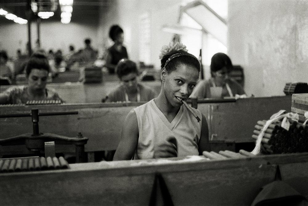 Cigar Worker, Havana Cuba, 1999.
