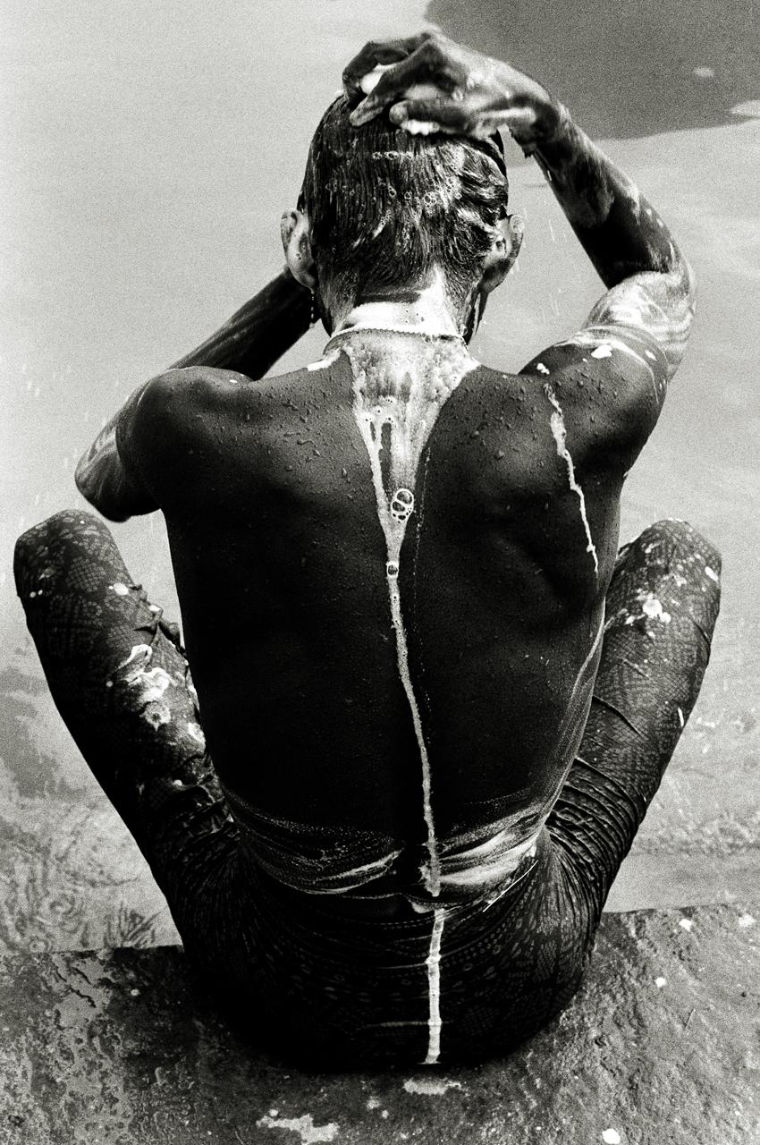 Pilgrim, Varanasi, India 1997