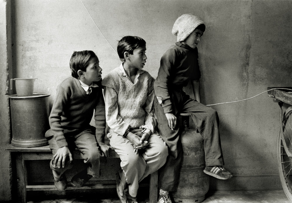 Television, Agra, India 1997.