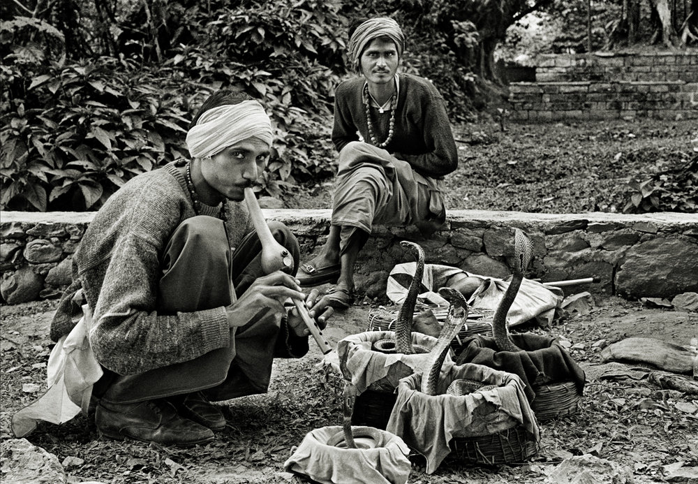 Snake Charmers, Pokhara, Nepal 1997