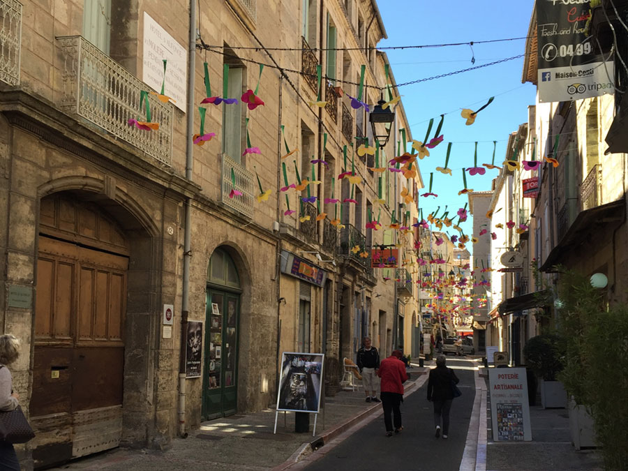 It's one festival after another in the narrow streets of neighboring Pézenas