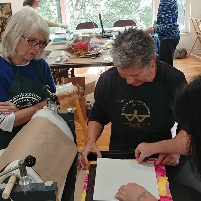 Printmaking workshop with Debra Olin at Jenny Harper Printmaking Studio. Become a LCFA member to register for the next class  at a discounted rate!!