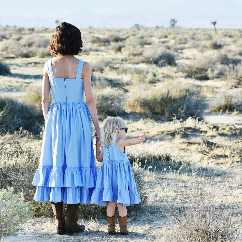 lancaster desert mommy and me ruffle dresses.jpg