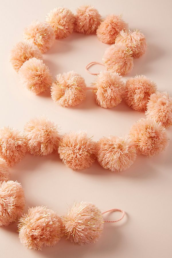 Anthropologie peach pom pom garland.jpg