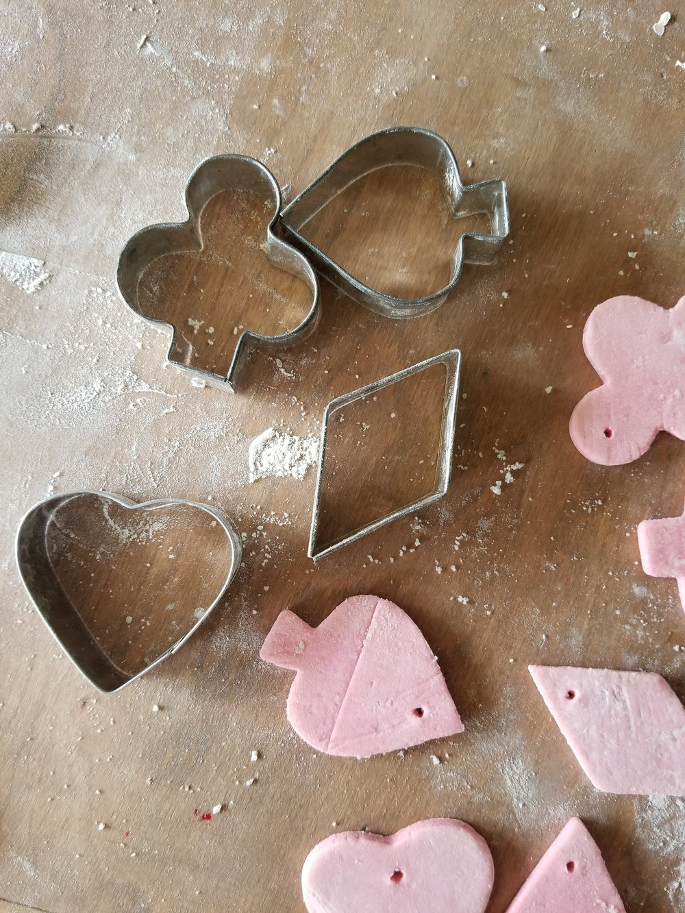 The Semi-Minimalist Valentine's salt dough vintage cookie cutters.jpeg
