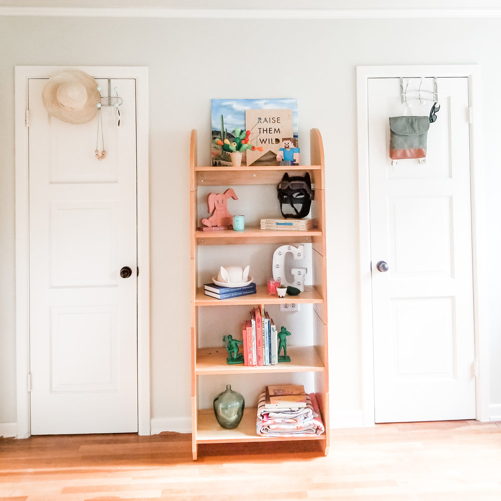 I also show in the inside of their closets @thesemiminimalist. So if you are interested in how I organized their clothing and toys take a gander!