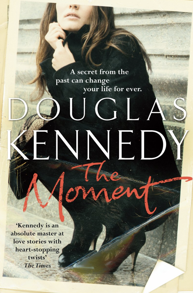 THE MOMENT - Thomas Nesbitt is a divorced American writer living a very private life in Maine. Until, one wintry morning, his solitude is disrupted by the arrival of a package postmarked Berlin.But what is more unsettling is the name accompanying the return address on the package: Petra Dussmann. For she is the woman with whom Thomas had an intense love affair twenty-five years before in a divided Berlin, where people lived fearfully under the shadows of the Cold War.And so Thomas is forced to grapple with a past he has always kept hidden. For Petra Dussman was a refugee from the police state of East Germany. And her tragic secrets were to re-write both their destinies.