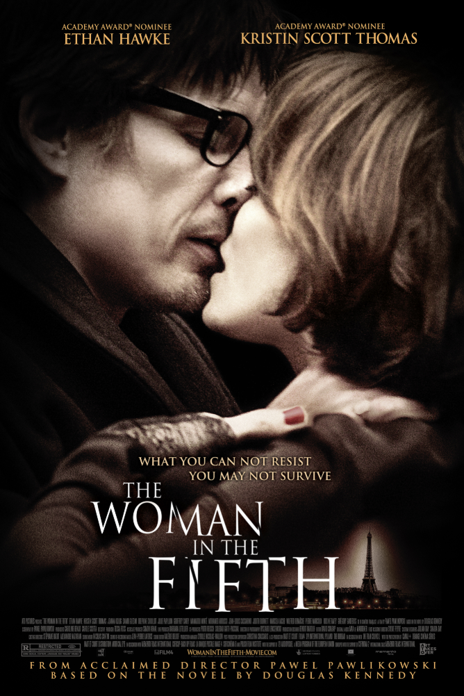 THE WOMAN IN THE FIFTH - Harry Ricks is a man who has lost everything. A romantic mistake at the small American college where he used to teach has cost him his job, his marriage, and the love of his only child. Hounded by scandal, he flees to Paris, where a series of accidental encounters lands him in a grubby room with a job as night watchman for a sinister operation. Just when he begins to think he has hit rock bottom, romance enters his life in the form of Margit—a cultivated, widowed Hungarian émigré who shares Harry's profound loneliness but who keeps her distance, remaining guarded about her past. As Harry wrestles with Margit's reticence, he begins to notice that all those who have recently done him wrong are meeting unfortunate ends—and it soon becomes apparent that he has stumbled into a nightmare from which there is no escape.