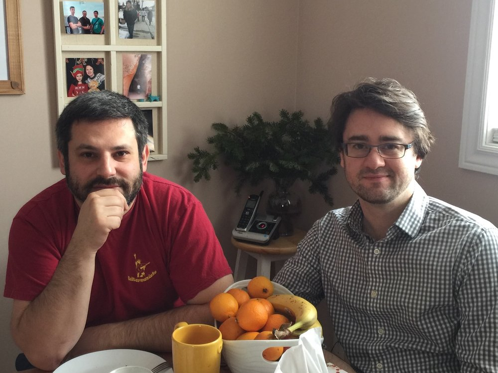 Spending some days with  Yuri Liberzon  from San Fransisco, CA, who visited me recently.
