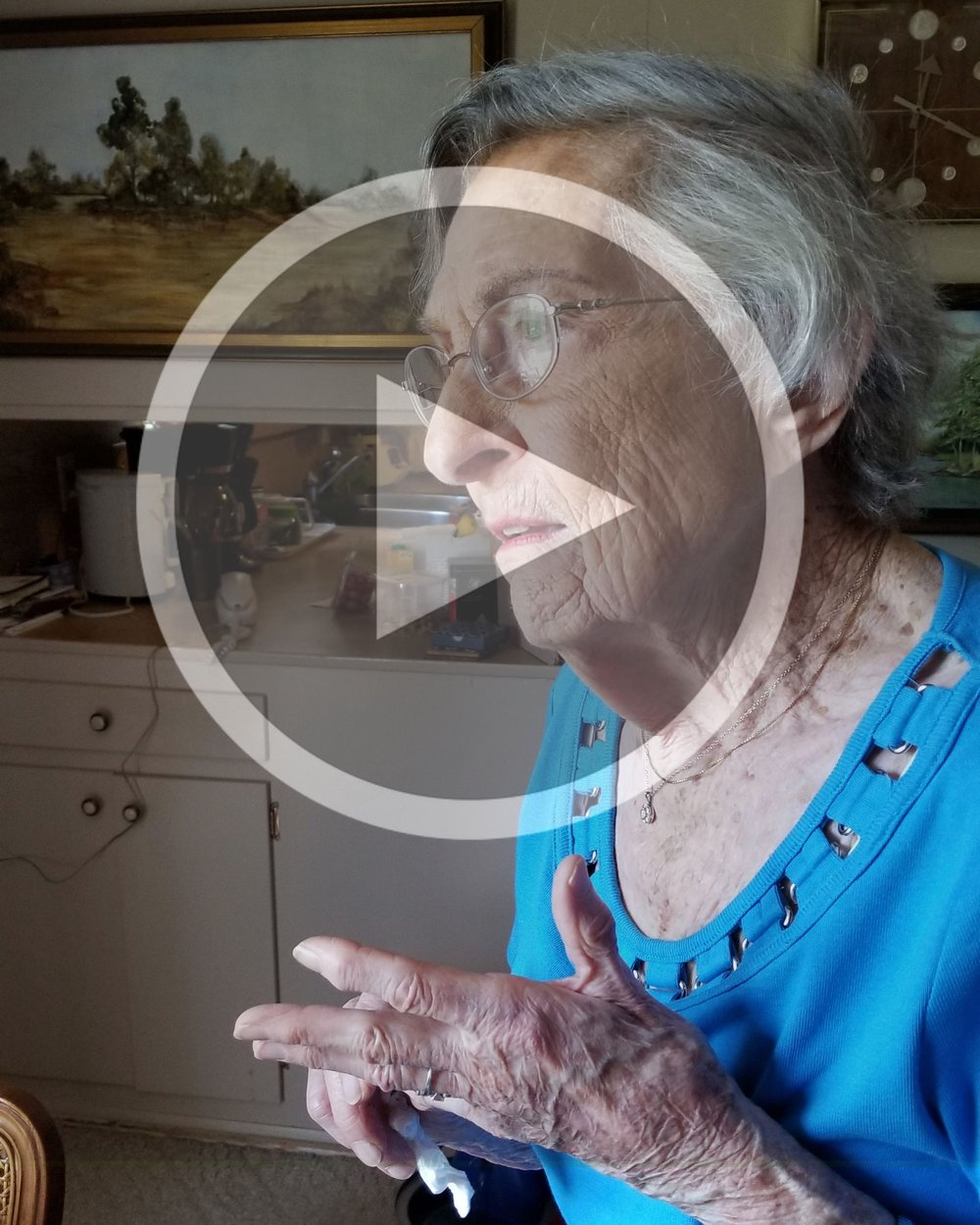 """Episode 3: Katherine Stannick   At 101, there's not much Katherine hasn't seen. She describes her life as """"rather mundane"""", but playing cello at intervals over an 80-year span and living in post-WWII Japan don't seem so mundane to me. Her joy for life is contagious. What's her secret? It will surprise you!"""