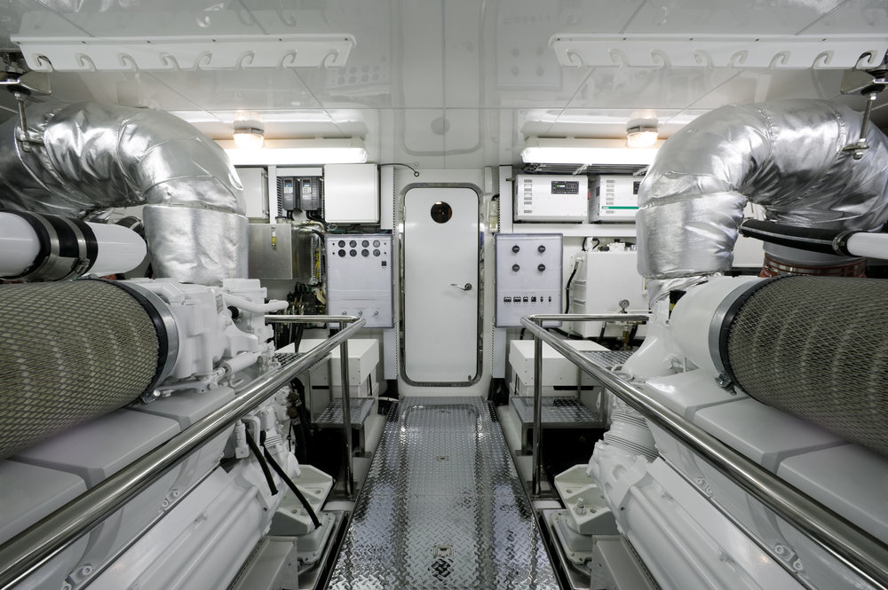 Motor Yacht Engine Room