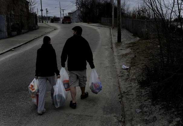 Waiting for the First - Food stamps put a Rhode Island town on a monthly boom-and-bust cycle.